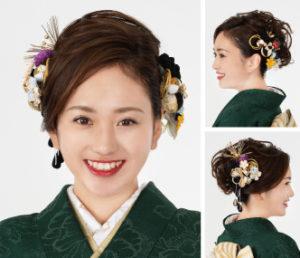 艶やか&しとやかに♪盛り髪で魅せるスタイル