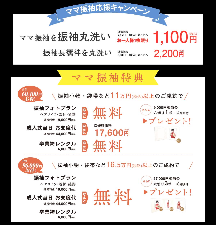 ママ振袖応援キャンペーン